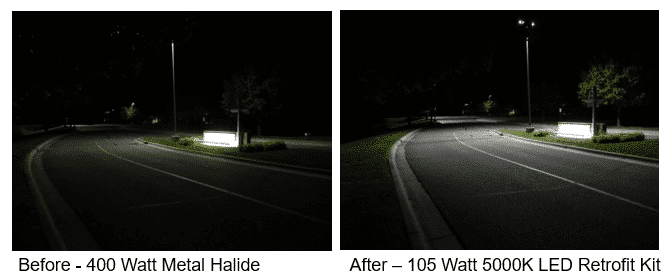 Retrofit Replacement Lights for Street Lights