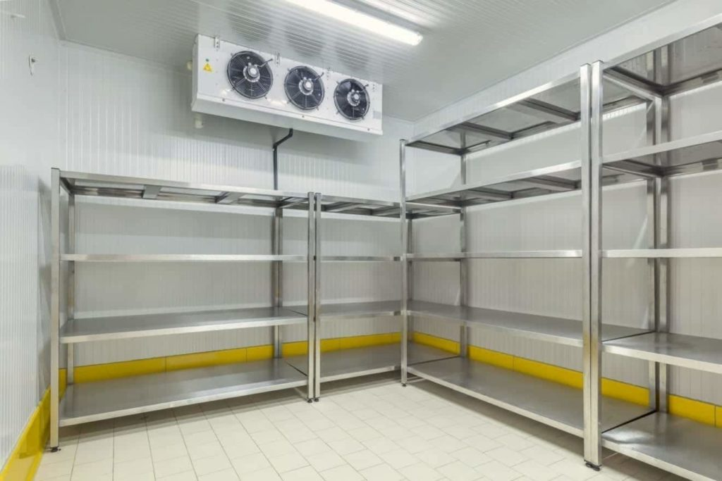 Cold Storage Lighting with LED
