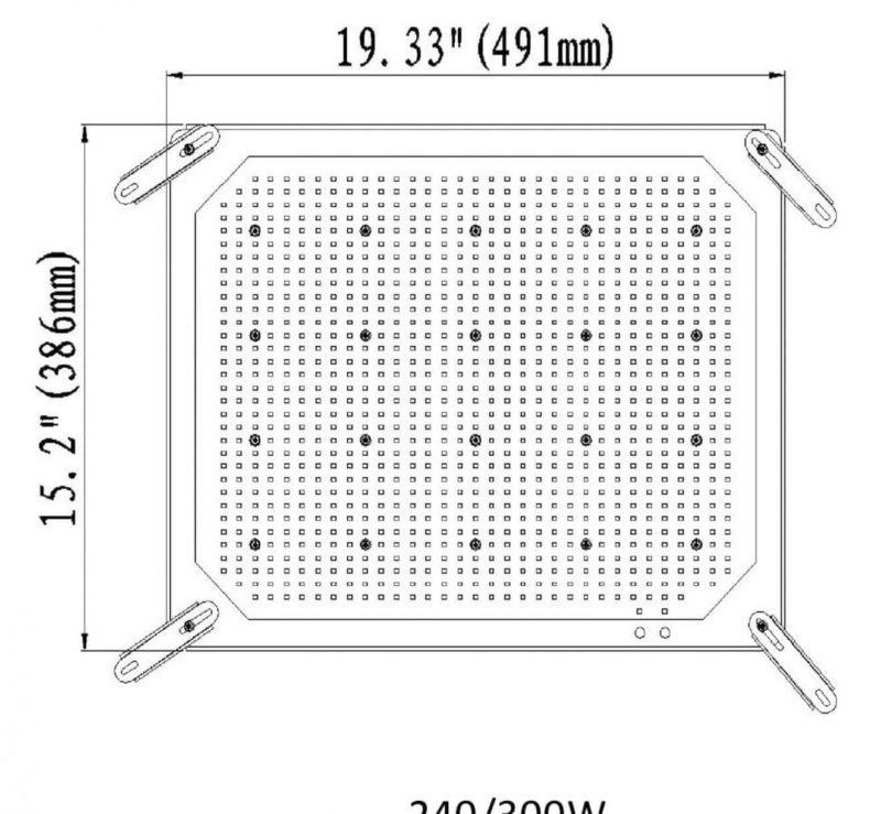 LED Shoebox Retrofit Kit