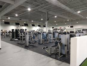 Gym After Conversion to LED