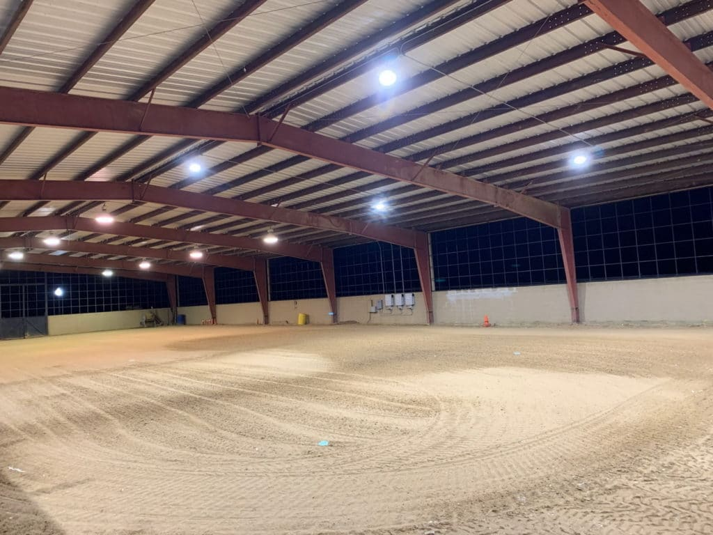 Covered Horse Arena